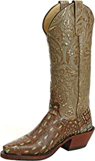 product image for Anderson Bean 320254 Mint Croco Tool Boots