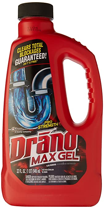 Drano Drain Cleaner Professional Strength, 32 oz