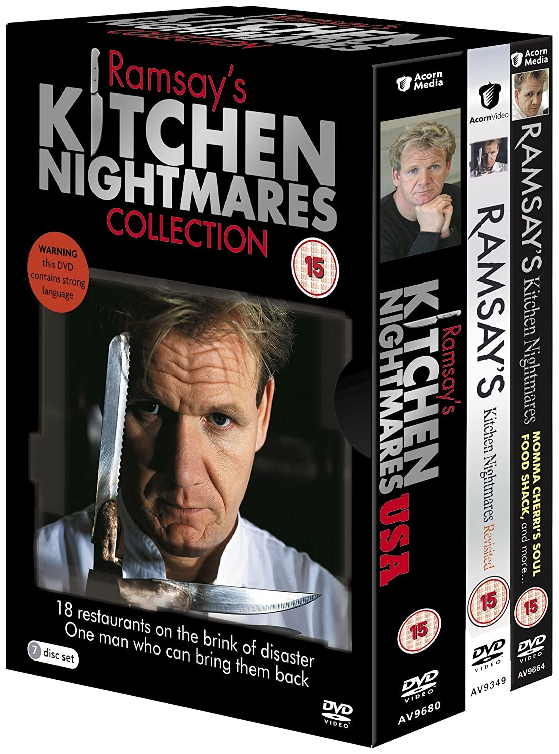 The Secret Garden Restaurant Kitchen Nightmares Ramsays Kitchen Nightmares Dvd Amazoncouk Dvd Blu Ray