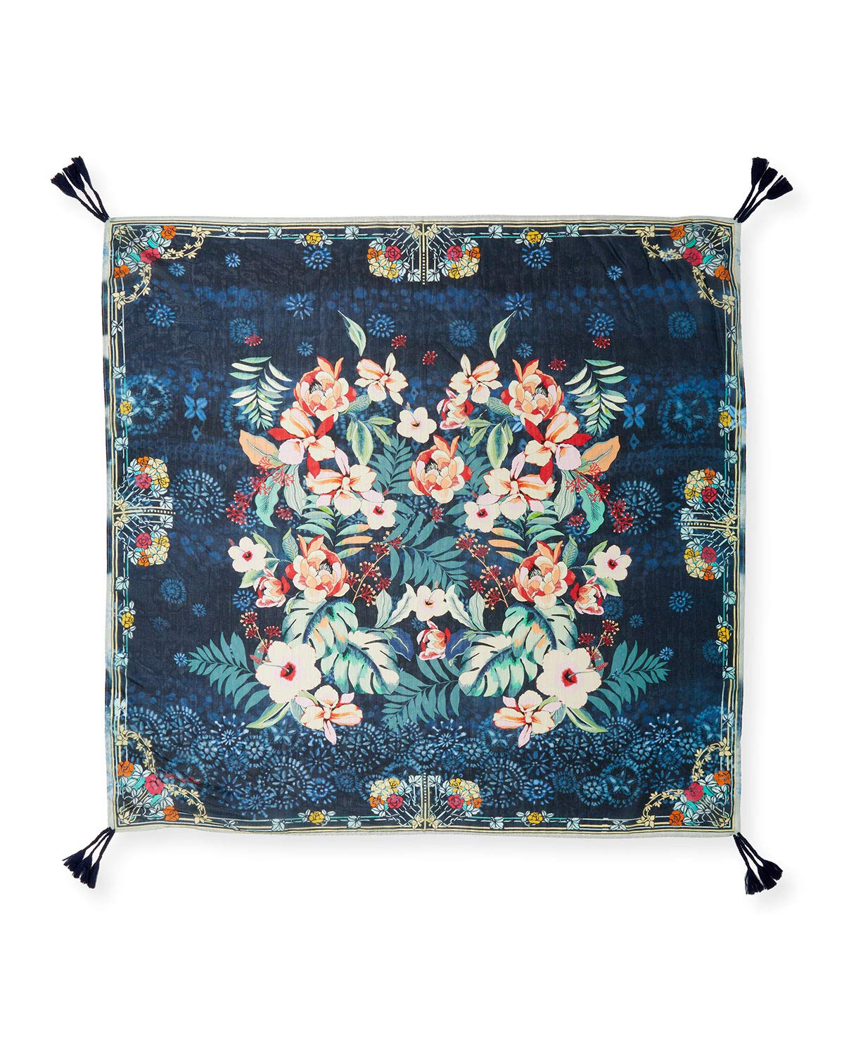 Johnny Was Women's Annia Scarf, Multi, O/S by Johnny Was