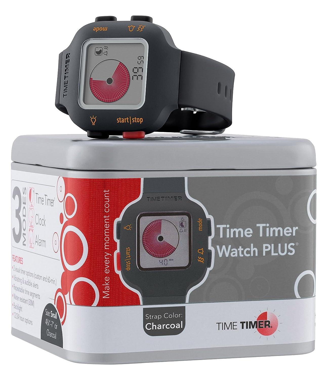 Time Timer Armbanduhr Kinder dunkelgrau - anthrazit
