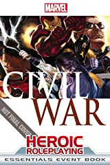 Marvel Heroic Roleplaying: Civil War Event Book Essentials Hardcover
