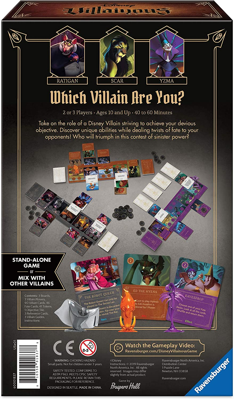 B-WARE Wonderforge 26055 Spiel Disney Villainous Gesellschaftsspiel Brettspiel