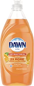 Dawn Ultra Antibacterial Hand Soap, Dishwashing Liquid Dish Soap, Orange Scent, 19.4 fl oz