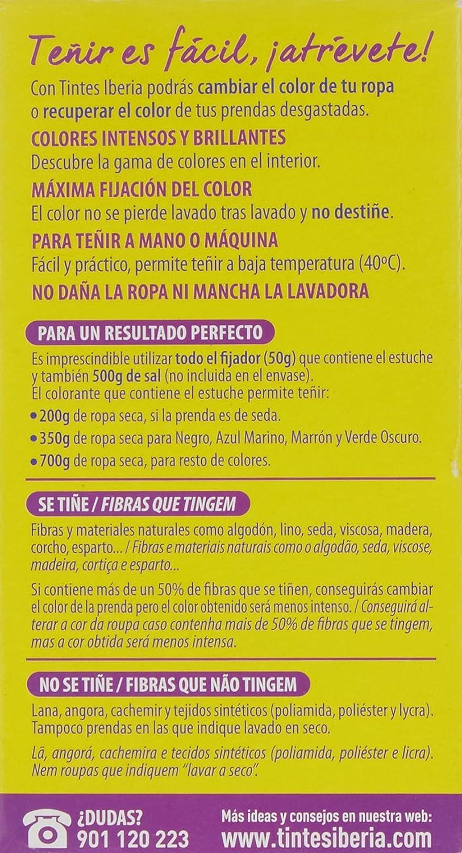 Iberia - Tinte Rosa para ropa, 40°C