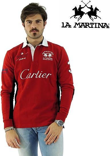 La Martina - Polo - Manga larga - para hombre Chili M: Amazon.es ...