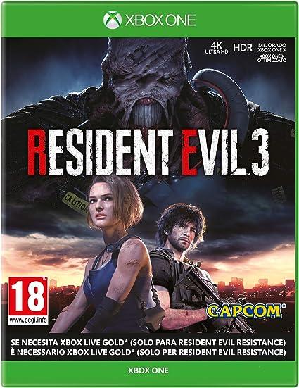 Resident Evil 3 Remake - Xbox One: Amazon.es: Videojuegos