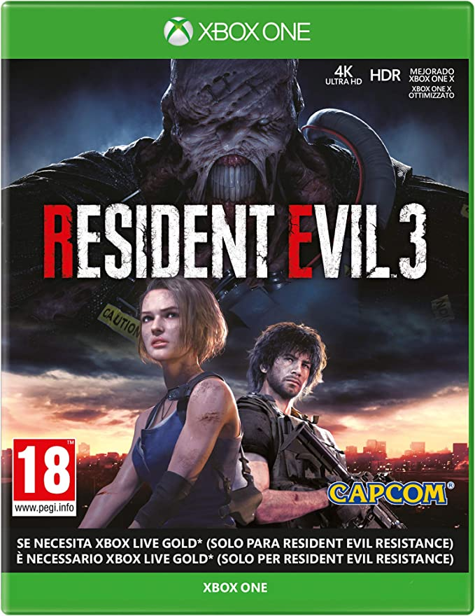 Resident Evil 3 Remake - Xbox One: Amazon.es: Videojuegos
