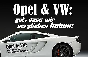 vw sprüche Z390 'Opel und VW: gut, dass wir verglichen haben  vw sprüche