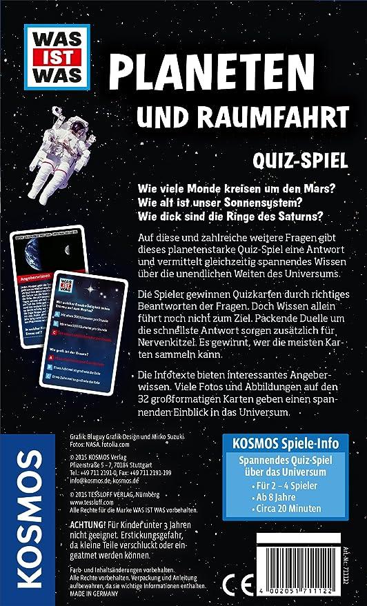 Unsere Erde Für 2-4 Spieler Spiel Inhalt Was ist was 32 Spielkarten Deutsch
