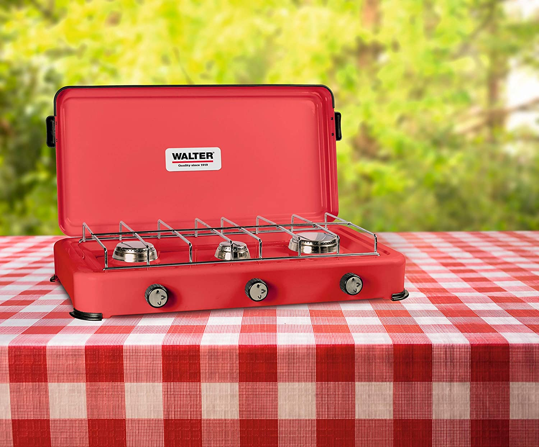 Walter 3-flammiger Campingkocher