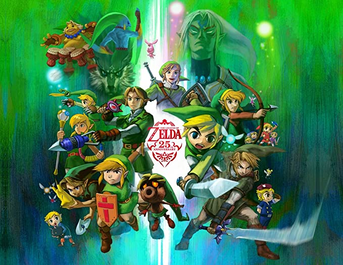 Legend of Zelda Image Photo Cake Topper Sheet Birthday Party - 1/4 Sheet - 74983