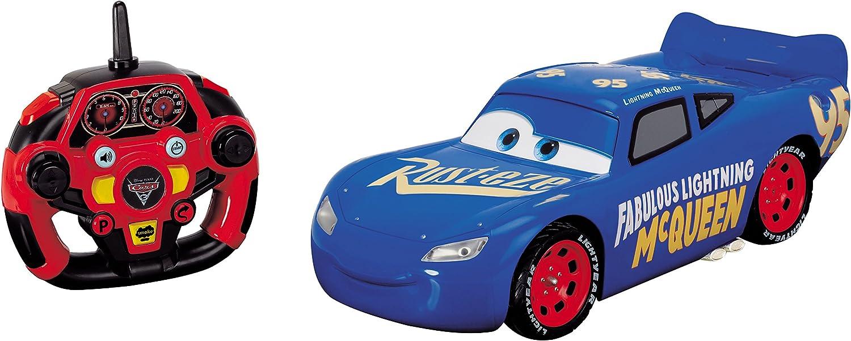 Dickie Toys- Cars 3 RC Saetta Mcqueen, 203086008038
