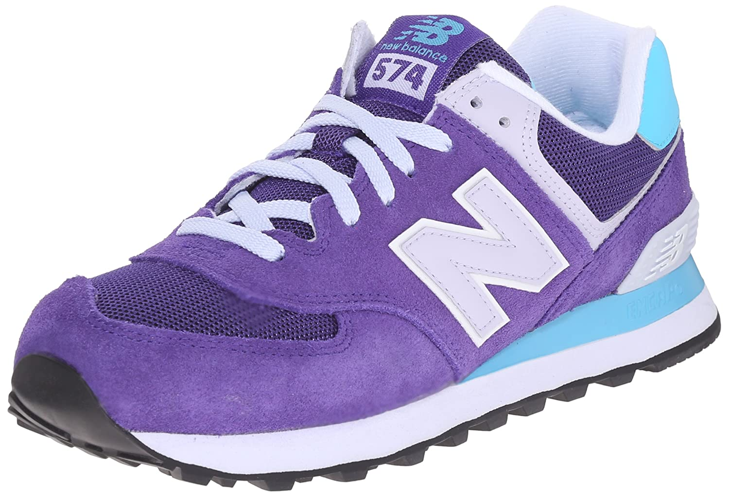 New Balance Women's WL574 CORE Plus-W Lifestyle Sneaker B00Z655WNY 7 B(M) US|Purple