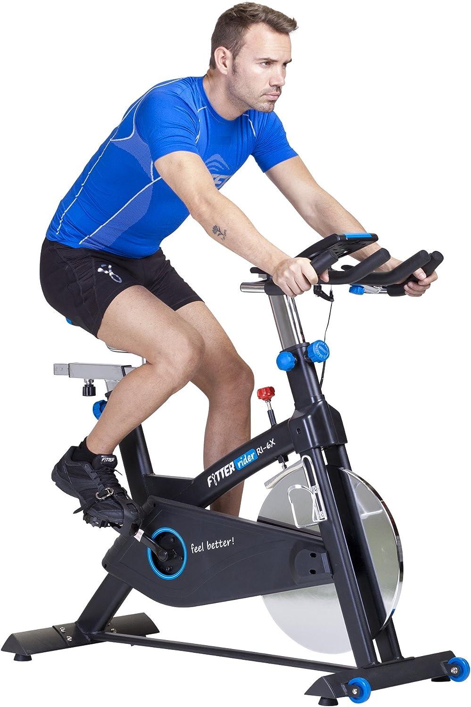 FYTTER Bicicleta Indoor Rider Ri-6X Negro: Amazon.es: Deportes y ...