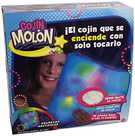 Amazon.com: Luz brillante Almohada Starlight cuadrado, color ...