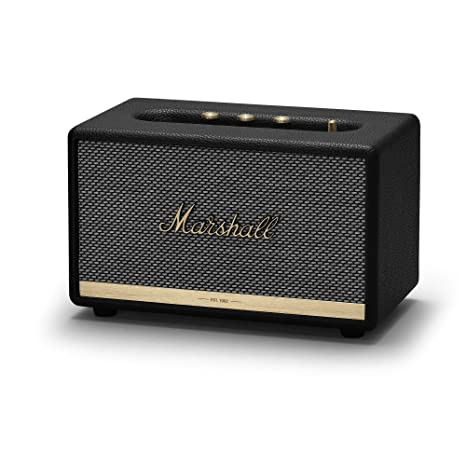 Marshall Acton II - Altavoz Bluetooth, color negro
