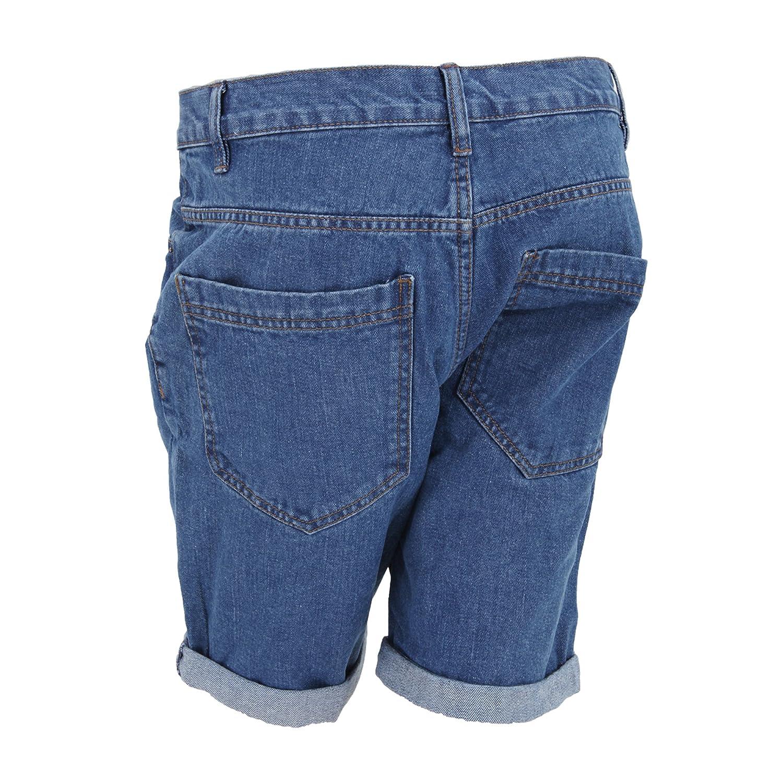 Brave Soul - Pantalones cortos vaqueros clásicos con el ...
