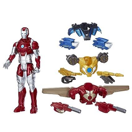 891146ea Marvel Titan Hero Series Iron Man Combat Pack