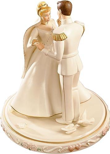 Lenox Cinderella s Wedding Day Cake Topper