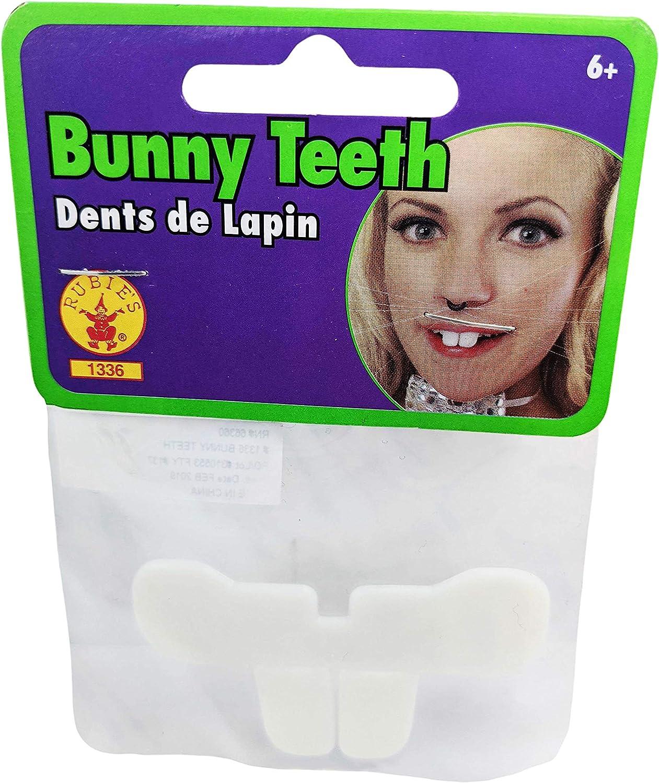 Hocus Pocus Costume Accessory Plastic Economy Bunny Teeth Child Teen Adult