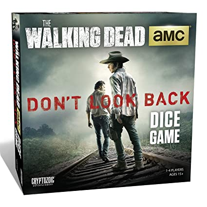 e6b107ad Amazon.com: Walking Dead Dice Game: Don't Look Back: Game: Toys & Games