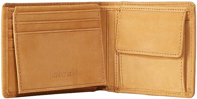 Timberland Passcase Herren Brieftasche Beige