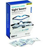 Bausch & Lomb BAL8574GM Pre-Moistened Lens Cleaning Tissues, Box Of 100 - Packaging