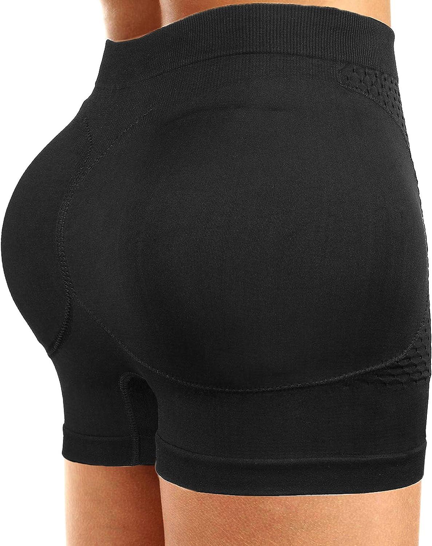 CeesyJuly Womens Padded Shapewear Hip Enhancer Butt Lifter Waist Trainer Control Panties