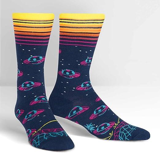 d7e4f1fc69f4b Amazon.com: Sock It to Me, Mens Crew, Space (Intergalatic): Clothing