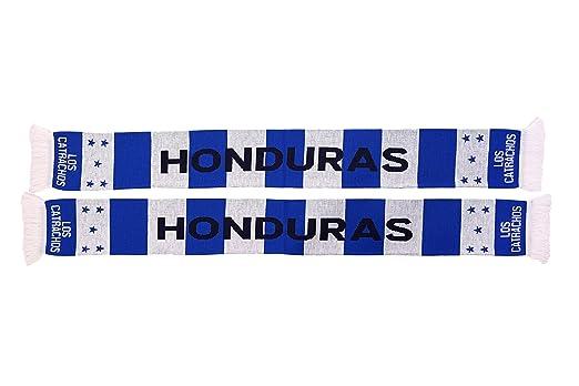 Amazon.com: Honduras Fútbol Knit bufanda: Sports & Outdoors