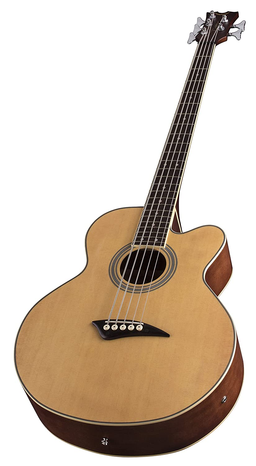 Amazon Dean Acoustic Electric Bass Cutaway 5 String Satin Finish Musical Instruments