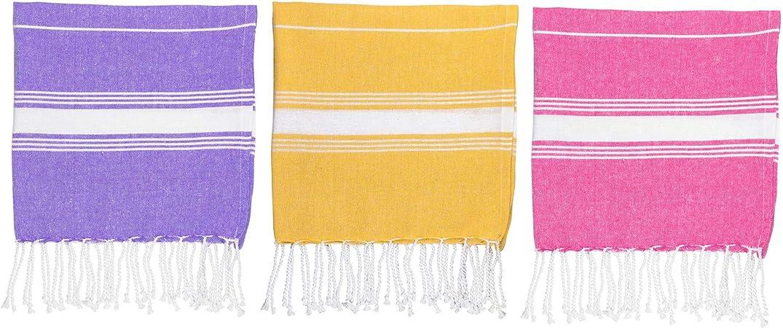 Turkish Cotton Hand Towel Gym Travel Kitchen Hammam Peshtemal Fouta Grey