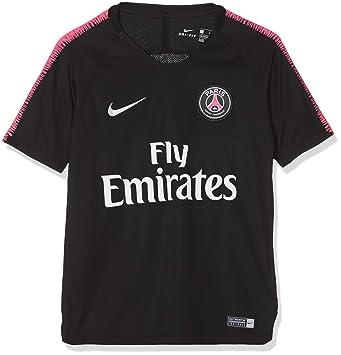 Nike PSG Breathe Squad Maillot à Manches Courtes Mixte Enfant 6c671f3c68f