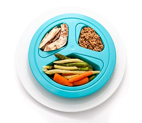 Amazon.Com: Portions Master Plate | Diet Weight Loss Aid | Food