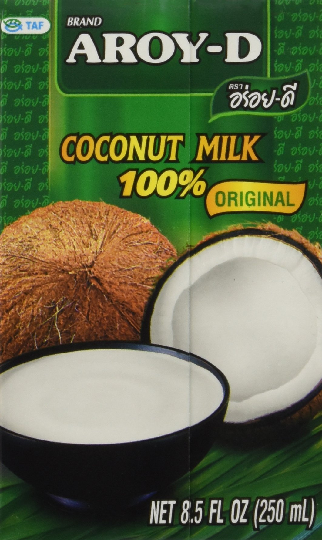 100% Coconut Milk - 8.5 Oz Packages (18-pack) by Aroy-D (Image #4)