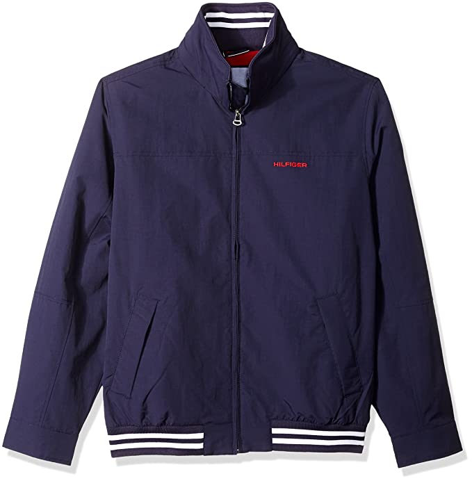4307b14c Tommy Hilfiger Men's Full Zip Regatta Jacket: Amazon.ca: Clothing ...