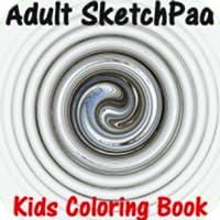 Adult Coloring Book - Sketch Pad