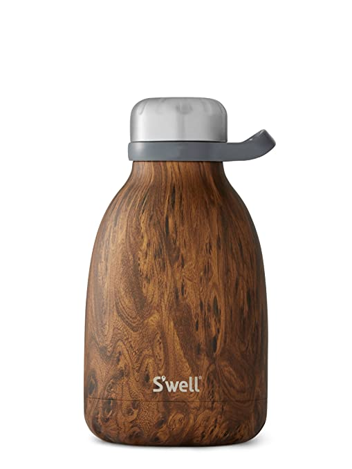 S'well Insulated Stainless Steel Roamer, 40oz, Teakwood by S'well