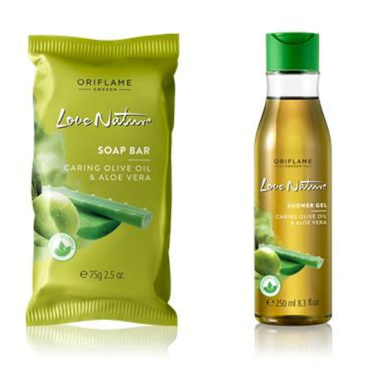 Oriflame Love Nature Moisturising Olive Oil & Aloe Vera Shower Gel