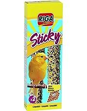 Riga Nourriture Sticky Boîtes de 2 Canaris Miel pour Oiseaux - Lot de 6