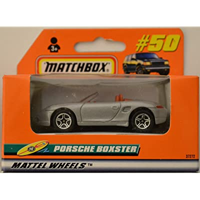Porsche Boxster Gray #50 Matchbox Collection Limited Edition Series 1:64 Scale Die Cast Collectible Model Car: Toys & Games