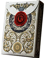 Elephant Playing Cards Medieval Cards Color (UK)