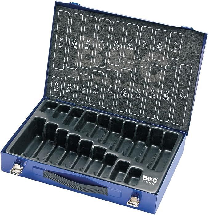 Maletín Bohrcraft metálico con capacidad para 170 piezas, vacío, 1 unidad, 00801521170: Amazon.es: Bricolaje y herramientas