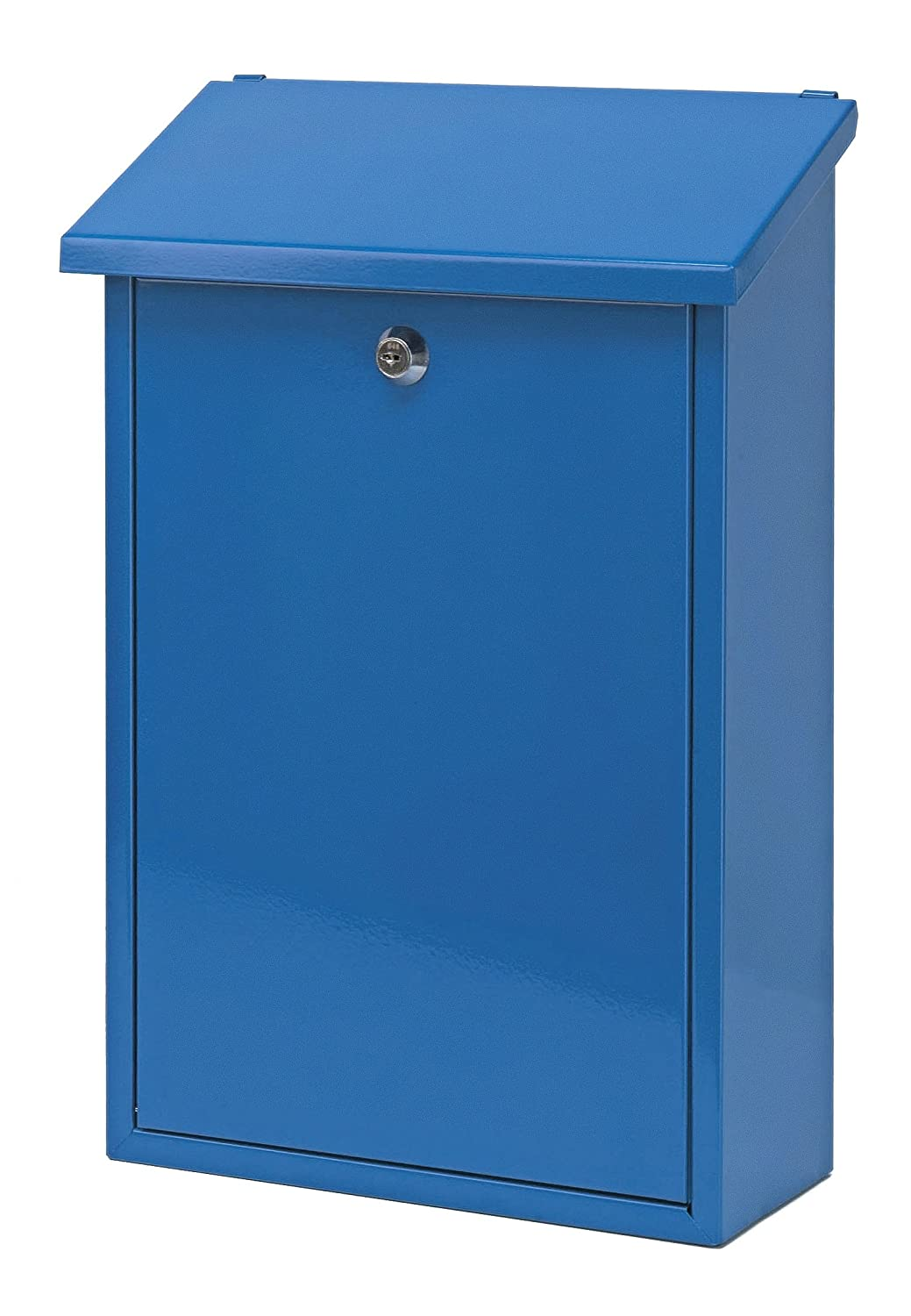 V-Part Wall-Mounted Post Box Height 40 cm Blue VB 440070