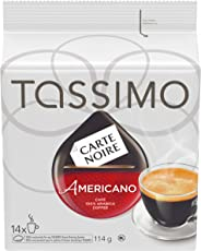 Tassimo Carte Noire Americano Coffee Single Serve T-Discs, 14 T-Discs