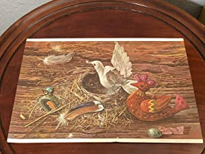 Aaron Bohrod Still life Painter Artist The Flock Signed Autograph Book Print - Fiction and Literature