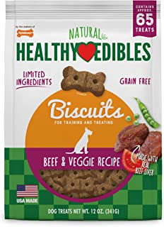 product image for Nylabone Healthy Edibles Biscuits Grain Free Dog Treats
