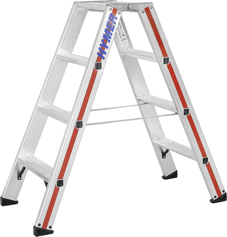 Hymer 802408 - Escalera de tijera: Amazon.es: Bricolaje y herramientas