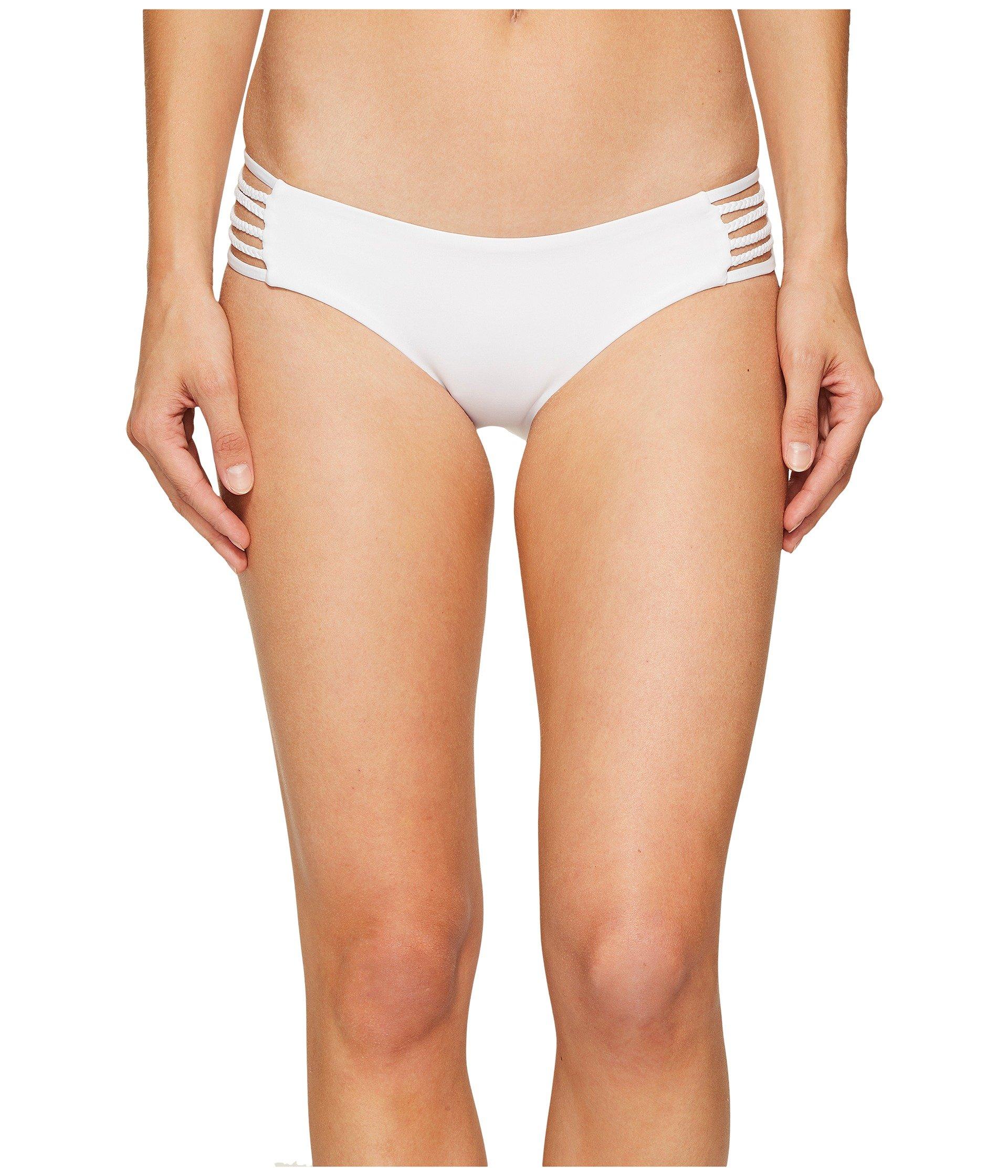 Vitamin A Swimwear Women's Jaydah Braid Bottom Full White Ecolux 8